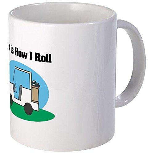 How I Rouleau (Chariot de golf) – Unique Tasse à café, 30 cl Tasse à café