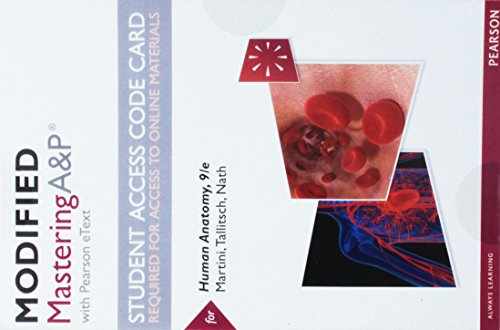 &p with Pearson Etext -- Standalone Access Card -- For Human Anatomy ()