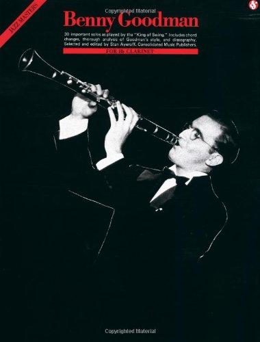 Benny Goodman: Jazz Masters Series B Flat Instruments Edition: Noten für Ensemble (Clarinet)