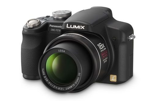 Fz18 Kamera Panasonic (Panasonic DMC-FZ18 EG-K Digitalkamera (8 Megapixel, 18-fach opt. Zoom, 2,5