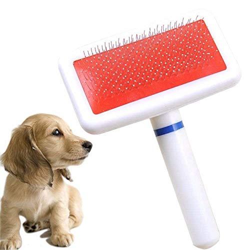 WESEEDOO Haustierbürste Hundebürste Katzenbürste Kamm Pet Brush Dog Stick Pet Slicker Pflegenhaar Weich Mit Kurzen Oder Langen Haaren - Haare Kämmen-stick