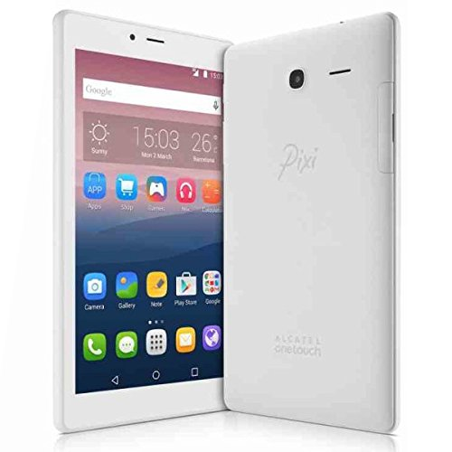 Tablet Alcatel Pixi 4 8063 Blanco 7 Pulgadas Memoria Interna 8GB