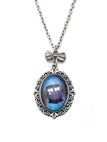 Doctor Who Tardis Cameo Necklace (Sci-fi-tv-shows)