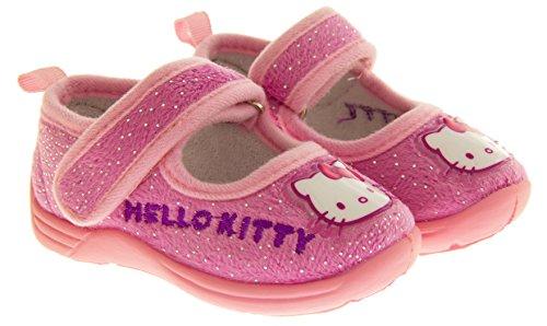 Bonjour Kitty infantile extérieure Sole chaussons pink