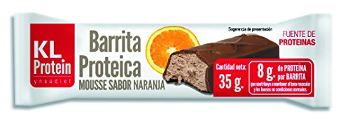 Barritas proteicas, barrita energética, sabor chocolate, sabor naranj