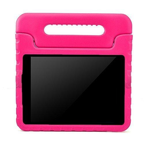 Preisvergleich Produktbild Kinder Hülle für Samsung Galaxy Tab A 7.0, CAM-ULATA EVA Stoßfest Leichtgewicht Kinderfreundlich Griff Schutzhülle Standhülle für Samsung Galaxy Tab A 7 Zoll Tablette 2016 Release, Rosa