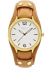 Mike Ellis New York Damen-Armbanduhr CountryAnalog Quarz Leder SL4346E