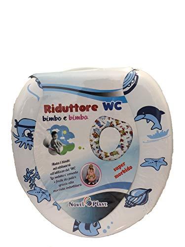Riduttore WC Bimbo Bimba Riduttore Water Bambini Copri Water Vasino Morbido (B)