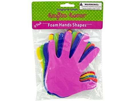 Kole Imports CC452 Foam Craft Hands by krafters korner
