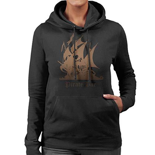Cloud City 7 Pirate Bae Women\'s Hooded Sweatshirt