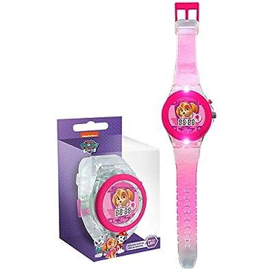 Paw Patrol - Skye reloj digital transparente (Kids PW16126) por Kids