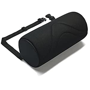 """ORIGINAL 4"""" LUMBAR SUPPORT ROLL - Helps prevent the onset of Back Pain- BLACK"""