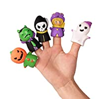DERAYEE 5 Pcs Halloween Finger Toys Set, Party Bag Fillers Party Favors for Kids