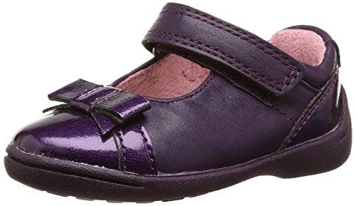 Start Rite Baby Mädchen Supersoft Bow Krabbel- & Hausschuhe Violett - Violet (Purple/Patent) 21 EU -