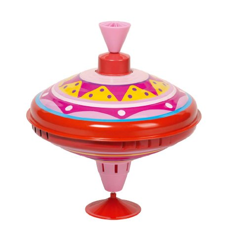 Cause - Peonza metálica con sonido, color rosa