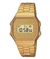 Casio Collection A168WG-9BWEF, Reloj Unisex, Amarillo