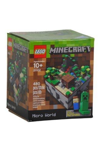 Lego Minecraft, Micro World 21102, niño, juego, recién nacido, Juego, Juguete