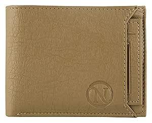 NERIYA Men's Genuine Leather Wallet (8 Card Slots)