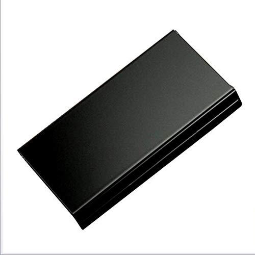 Automatisches Cover Metal Cigarette Case Ultra Thin Portable Long Smoke Cigarette Boxen 20 Sticks Ordinary Cigarettes,Black,20Sticks -
