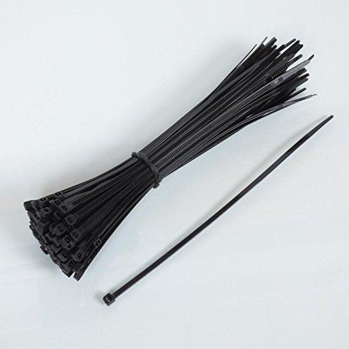 10 Colliers de Serrage Plastique Chrome Type Rilsan