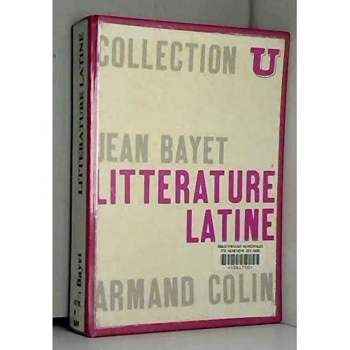 Littérature latine in-8, broché, 541pp