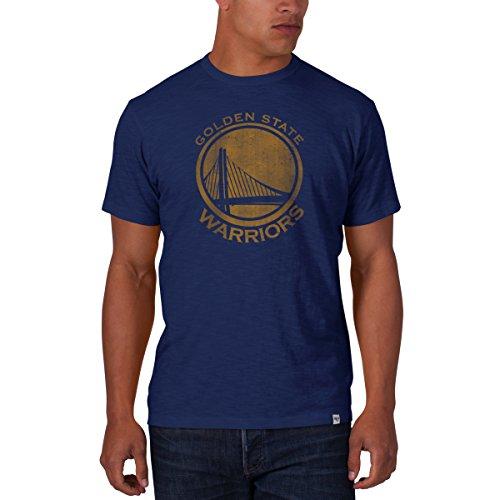 '47 Brand NBA GOLDEN STATE WARRIORS Scrum T-Shirt, Größe:XXL (47 Brand Golden Warriors State)