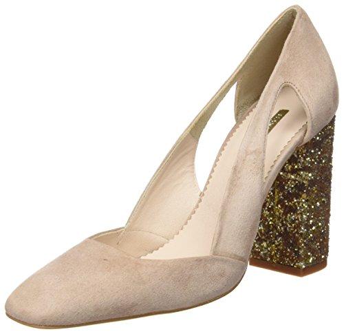 Hannibal Laguna Damen Dunia High Heels Pumps Rosa