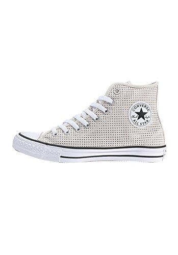 Converse Chuck Taylor All Star C551628, Sneakers Hautes Femme Beige - Parchment White