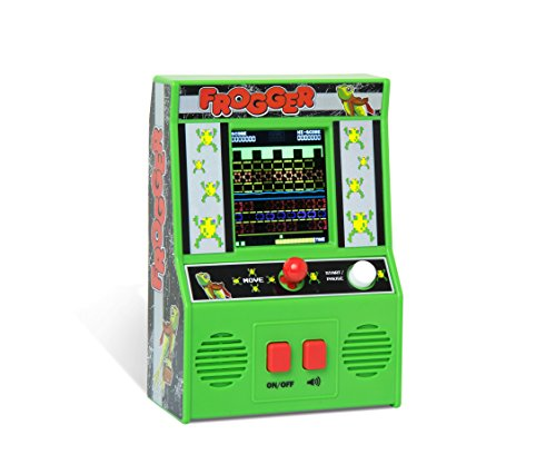 Frogger Mini Arcade Game - Retro Gift Idea