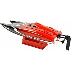 Amewi Sea Rider - barcos por radio control (RC) (Negro, Rojo, Color blanco, Níquel-metal hidruro (NiMH))