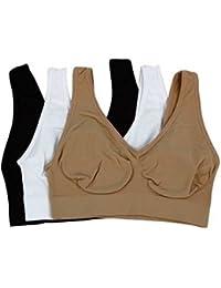 Ansh Fashion Wear Designer Sports Bra Pack Of 3