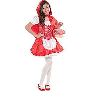 Amscan - 999 710 - Caperucita Roja Disfraz - 8-10 Años