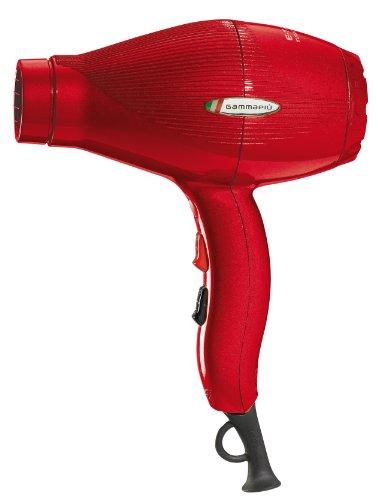 Gamma Piu Ion Ceramic S - Secador de pelo, color rojo