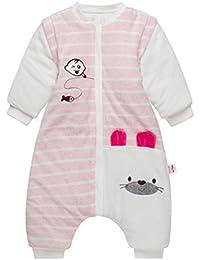 Bolsa de Dormir de Bebé de Mangas Largas,Invierno Sacos de Dormir para Bebé Niños