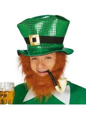 St Kostüm Patrick's Day - Guirca Fiestas GUI13381 -  paillettenbesetzter St. Patrick's Day Hut