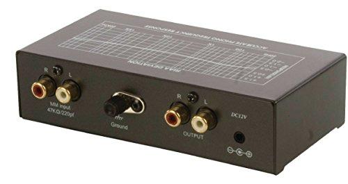 Eurosell Profi Phono Vorverstärker - Vorverstärker zum Anschluss eines Plattenspielers an einen Verstärker ohne Phono-Eingang