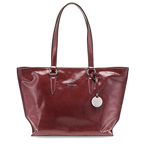Tamaris Damen Neve Shopping Bag Schultertasche, 14 x 29 x 33 cm brick