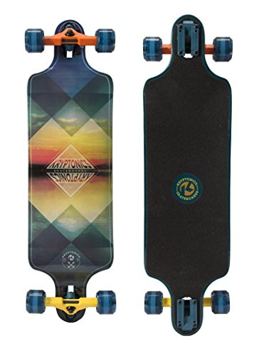 "Kryptonics Drop Down Longboard, 81,3 cm, 162255, Horizons, 32"" X 8\"""
