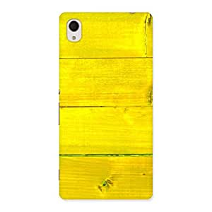 Cute Yellow Backyard Back Case Cover for Sony Xperia M4