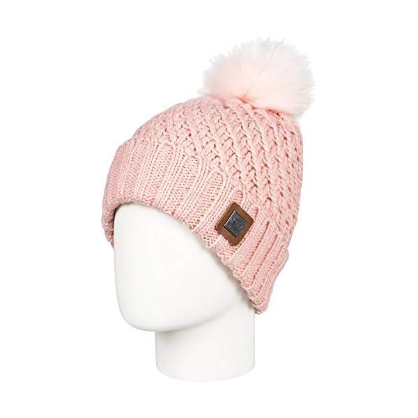 Roxy Womens Blizzard Pom Pom Warm Winter Skiing Beanie Hat