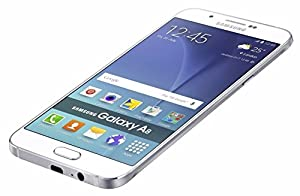 "Samsung Galaxy A8 SM-A8000 16GB White, Dual Sim, 5.7"",GSM Unlocked International Version, No Warranty"