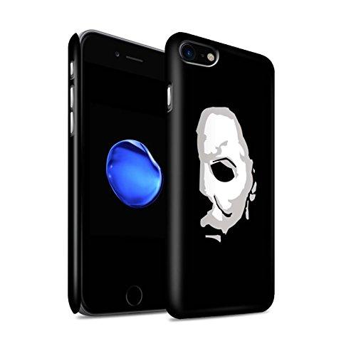 Stuff4® Matte Snap-On Hülle/Case für Apple iPhone 8 / Michael Myers Inspiriert Kunst Muster/Grusel Filmkunst Kollektion