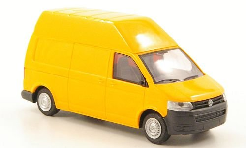 VW T5 HD Kasten, orange, 2009, Modellauto, Fertigmodell, Rietze 1:87 2009 Vw Van