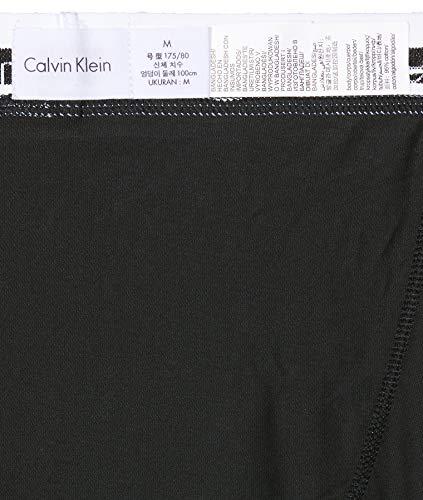 Calvin Klein Herren 3er Pack Trunk, Schwarz (Schwarz 001), Gr. M