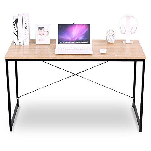 WOLTU TSB04hei Schreibtisch Computertisch Büromöbel PC Tisch Bürotisch Arbeitstisc...