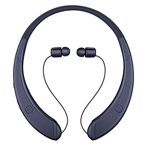 OPAKY Universeller drahtloser Bluetooth-Kopfhörer mit Mikrofon HiFi-Sound-Headsets Faltbar, für iPhone, iPad, Samsung, Huawei,Tablet usw