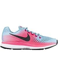 Nike Air Zoom Pegasus 34 Mujer Azul Blanco Rosa N880560 406