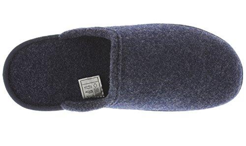 MIK Funshopping , chaussures compensées homme Bleu foncé