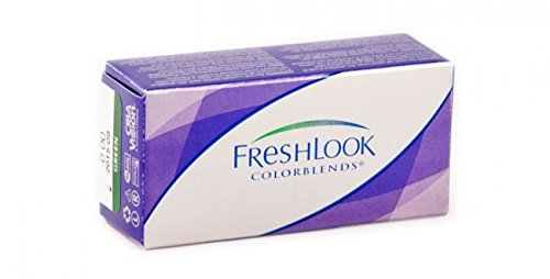 Preisvergleich Produktbild Alcon Ciba Vision Freshlook Colorblends farbige Kontaktlinsen 2Gläser Pure Hazel
