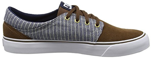 DC Shoes Herren Trase Se Sneaker Blau (Brown/Blue)